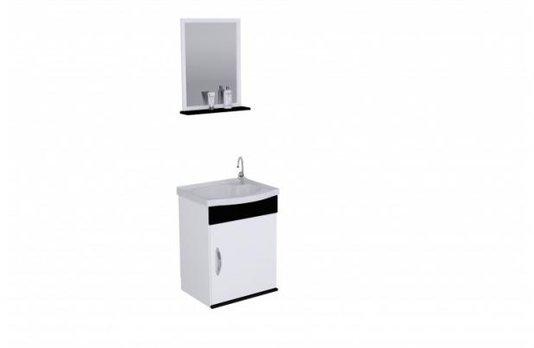 Gabinete Para Banheiro 39cm Siena AjRorato Completo