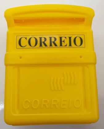Caixa De Correio Correspondência Pvc 25x20x10cm