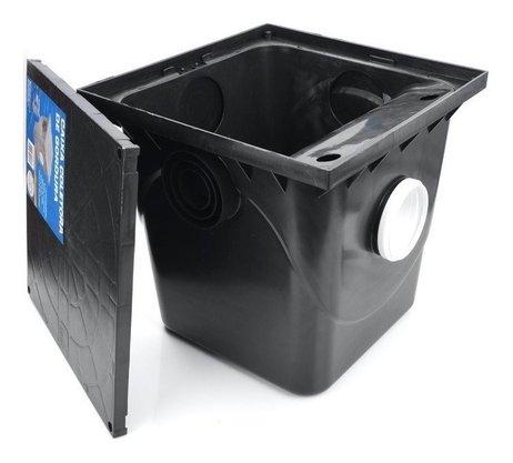 Caixa De Gordura Coletora  Com cesto Para Limpeza Metasul 42 Litros