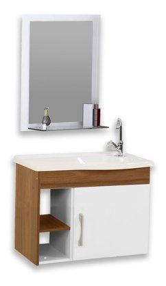 Gabinete Para Banheiro  Completo Turim 55 AjRorato Completo