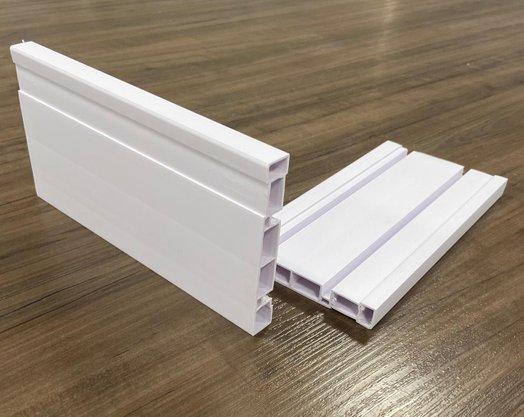 Rodapé De PVC Cores 7Cm Barra de 2,40 Mt