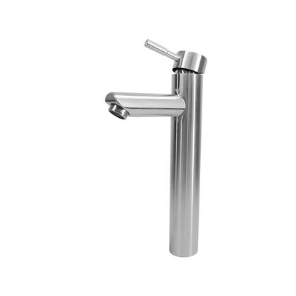 Torneira Monocomando Banheiro Alta Aço Inox F2002 Redonda