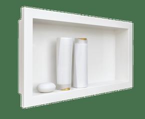 Nicho Para Banheiro Embutir Branco 30x60 Metasul