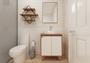 Gabinete Para Banheiro Anny 60cm Mazzu Completo
