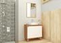 Gabinete Para Banheiro Anny 80cm Mazzu Completo